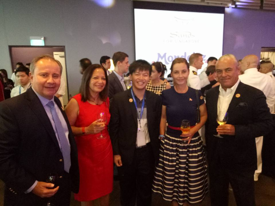 Photo from the Singapore American Embassy 4th of July Independence Day Gala Event